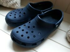 CROCS Navy Blue Mens Size 8 Great condition