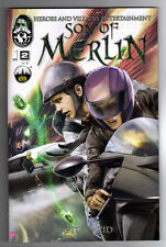 SON OF MERLIN #2 - ZID ART & COVER - TOP COW/IMAGE COMICS - 2013