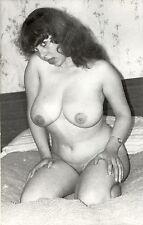 666 # Photo-PC ca 1960 nude Pin up girl nu Erotik Busen busty dick fett fat