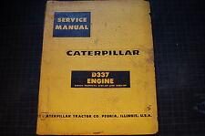 CAT Caterpillar D337 Engine Repair Shop Service Manual overhaul diesel dozer