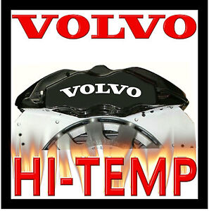 VOLVO HI - TEMP CAST VINYL BRAKE CALIPER DECALS STICKERS GRAPHICS BEST AVAILABLE