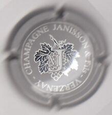 capsule champagne JANISSON & FILS, gris et argent