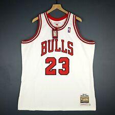 100% Authentic Michael Jordan Mitchell Ness 95 96 Bulls Jersey Size 52 2XL Mens
