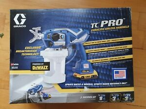 Graco TC Pro Cordless Airless Paint Sprayer 17N166 - Brand new
