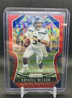 2019 Panini Prizm Red Wave Russell Wilson Prizm #'d 26/149 Seattle Seahawks SP!