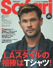 Safari June 2020 Chris Hemsworth Men's Fashion Magazine