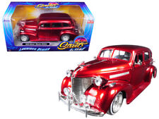 1/24 Jada 1939 Chevrolet Master Deluxe Lowrider Series Diecast Model RED 98914