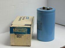 NEW MALLORY CAPACITOR CGS202T450X5C 2000 MFD 450VDC POS + 85C 525 VDC MAX SURGE