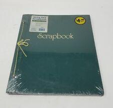 Vintage Cuerda Atado Verde Scrapbook 30.5cmx35.6cm Álbum Thompson Productos NOS