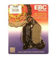 Yamaha YBR125 2007-2016 EBC Front Disc Brake Pads Organic FA464