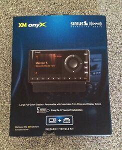 Sirius   XM OnyX Radio + Vehicle Kit