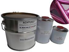 2,5 litros Set pintura base para pulverizar CANDY LILA con capa transparente