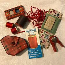 64pcs Thread Sets Sewing Machine Spools Assorted Colors Home Kit Travel Bob F0S1