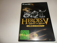 PC Heroes of Might & Magic 5 oro