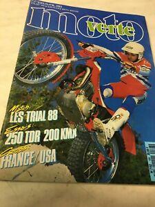 Moto verte 168 1988 250 TDR Beta tr 34 kawasaki KMX 200 jeff stanton troy lee...