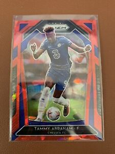 20-21 Prizm EPL Tammy Abraham Red Cracked Ice - Chelsea - Premier League!