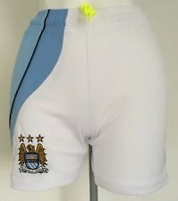 MANCHESTER CITY BOYS HOME SHORTS BY LE COQ SPORTIF SIZE SMALL BOYS 22 INCH WAIST
