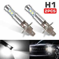 2PCS Xenon H1 CREE LED Headlight Fog Driving Light Bulbs 6000K Super White 100W
