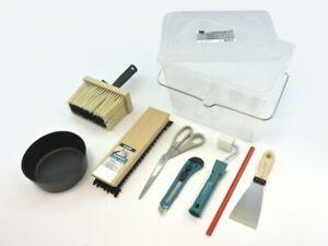 Nespoli Tapezier-Set 9-teilig im 8 Liter-Eimer  Tapezierset  Tapezierwerkzeug