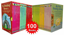 Usborne Very First Reading Library 100 Books Set Collection Complete School Pack