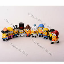 Despicable Me 2 Minions Movie Character Figures Cute Toys Birthday Gift 10pc Set