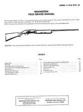 remington shotgun gun manuals for sale ebay rh ebay com Remington Model 11 Year Made Remington Model 11 Year Built
