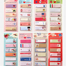 Mini 120 Pages Stick Cute Cartoon Sticky Notes Tab Post It Memo Note Book Flags