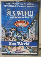 Sex World (Dvd 2012) Very Rare 1978 Sci Fi Fantasy Comedy Brand New