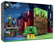 Microsoft XBOX ONE S 1TB + Minecraft Limited.Edition Console MICROSOFT  NUOVA!!