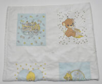 Noah/'s Ark Baby Quilt Panel Vintage Nursery Bedding Wall Hanging Cathy Heck