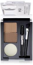 NYX Cosmetics Eyebrow Cake Powder Makeup Palette Brush Set Case Kit Women Blonde