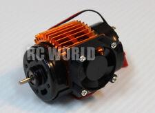 RC 1/10 LARGE 550 Motor RC TRUCK Rock Crawler 10T High TORQUE + FAN Heat Sink