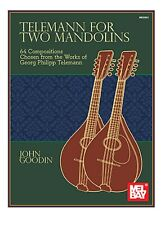 MEL BAY  30653 Telemann for Two Mandolins  by John Goodin with FREE Shipping