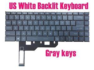 US White Backlit Keyboard for MSI Prestige 15 A11SC/A11MO/A11UC/A11UD/A11SC