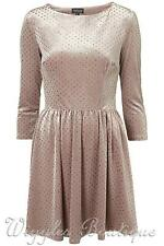 Topshop Crew Neck Spotted Dresses for Women