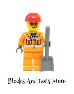 Lego Town City - Construction Worker Figure From 5642 Tipper Truck Set CTY0132