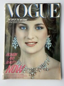 VOGUE Magazine 1981 AUGUST COMPLIMENTARY GIFT WRAP Fast Dispatch