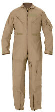 USGI ARMY NOMEX Flight Suit CWU 27P Flyers Tan Coveralls 44XL Mechanic Jumpsuit
