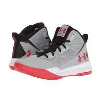 Kids' Boys' Grade School Jet Mid Basketball Shoes Sneakers in Slate Gray