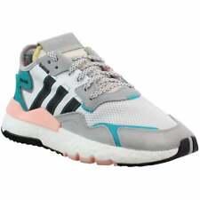 Zapatillas Adidas Nite Jogger Lazada (niño Grande) Informal Tenis Blanco Boys -