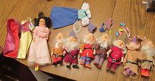 Snow White & the Seven Dwarfs set of 8 dolls Bikin