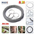 304 Stainless Steel Saw Woodworking Super Fine 5M Hand Saw Wire Survival tool