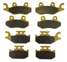 2014 2015 fits Can-Am Outlander XT 800R Front and Rear Brake Pads Brakes MudRat