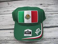 Fan Favorite Futbol Mexico Football Cap Soccer Adjustable Strapback Baseball Hat