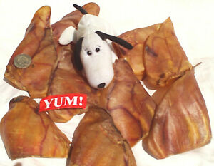 Large Pig Ears. 100% Australian Dog Treats Chews. Natural & Best for Dogs & Pets
