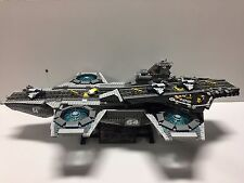 Lego Marvel Super Heroes 76042 The SHIELD Helicarrier! Used-Instructions-Motor!!