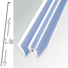 4 X Shower Wall Panels White Internal Trim  5mm X 2700 long WET WALL