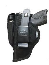 "Nylon Gun holster For ATI GSG FireFly Semi-Automatic .22LR, Rimfire, 4"" Barrel"