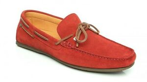 Dubarry of Ireland Corsica Red Driving Moccasin Loafer Men's sizes 8-12 New!!!