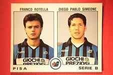 Panini Calciatori 1991/92 N 523 PISA ROTELLA SIMEONE OTTIMA